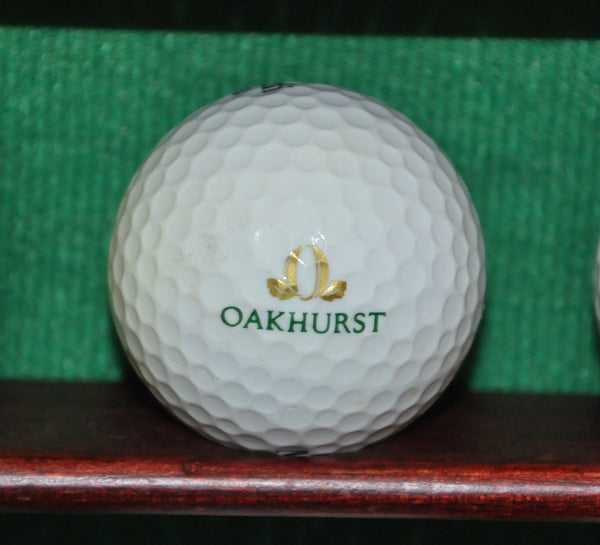 Oakhurst Country Club Clayton California Logo Golf Ball