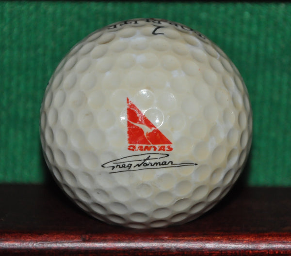 Vintage Qantas Airlines Greg Norman Signature Golf Ball