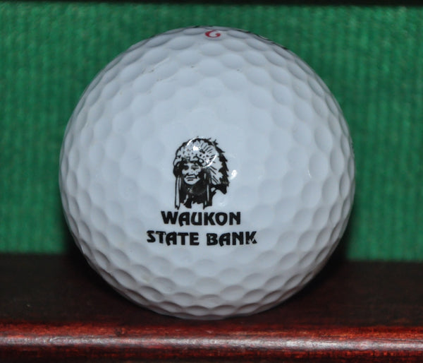 Waukon State Bank Iowa Logo Golf Ball