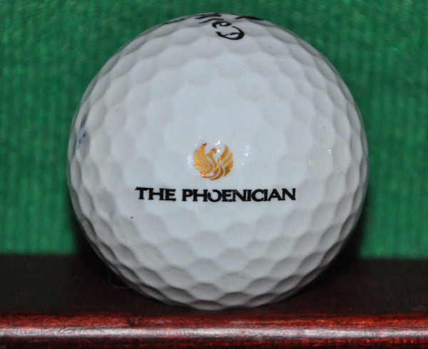 The Phoenician Casino Resort Las Vegas Logo Golf Ball. Callaway
