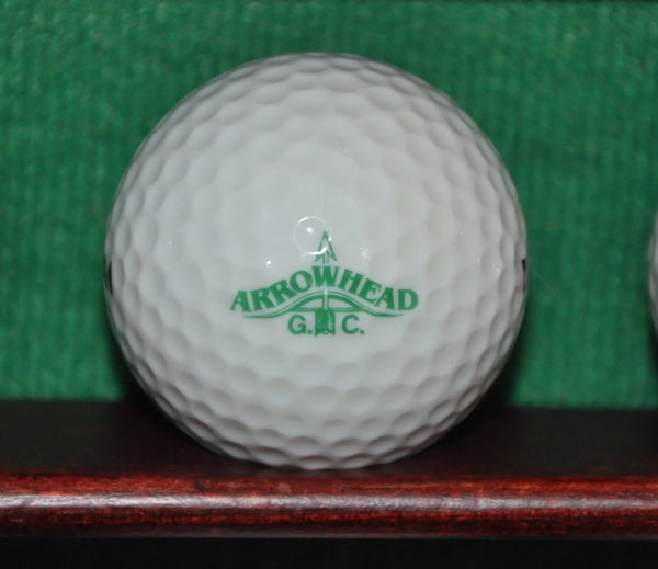 Vintage Arrowhead Golf Club Colorado Logo Golf Ball