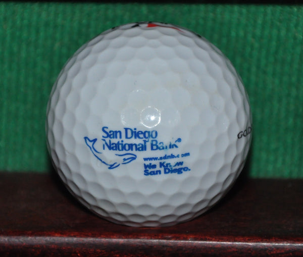 San Diego National Bank California Logo Golf Ball