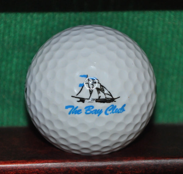 The Bay Club Berlin Maryland Golf Club Logo Golf Ball