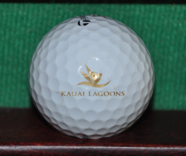 Kauai Lagoons Golf Course Hawaii Logo Golf Ball. TaylorMade
