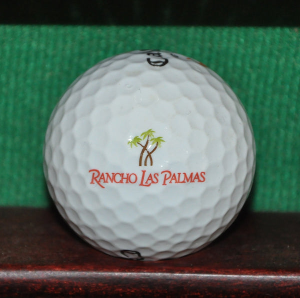 The Omni Rancho Las Palmas Golf Resort Palm Springs Rancho Mirage Logo Golf Ball. Callaway