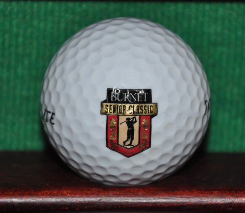 Burnet Classic PGA Champions Tour Event in Minneapolis Logo Golf Ball
