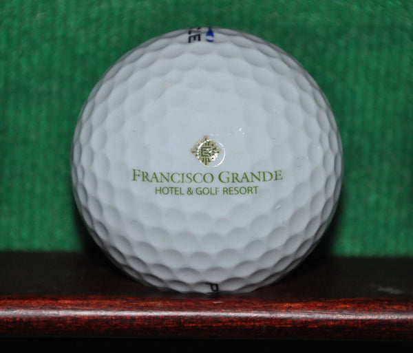 Francisco Grande Golf Resort Arizona logo golf ball.