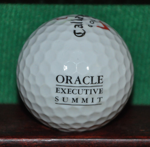 Oracle Executive Summit Logo Golf Ball. Callaway