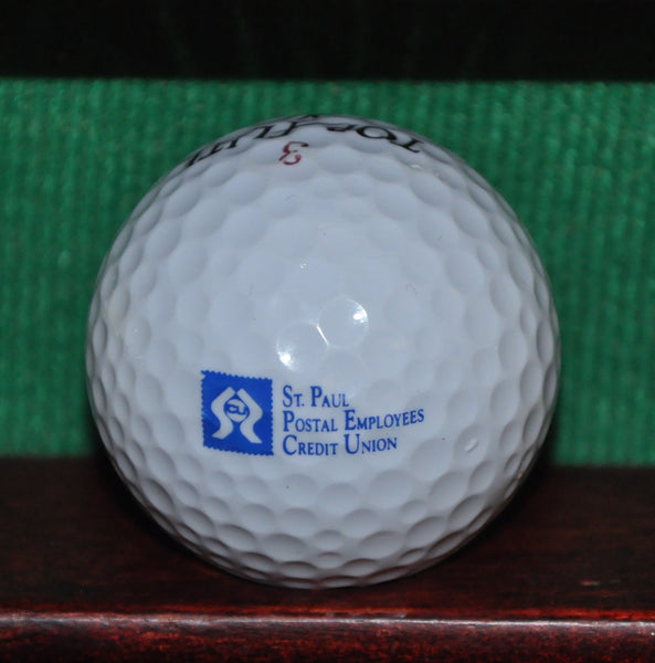 St Paul Postal Employees Credit Union Minnesota Logo Golf Ball