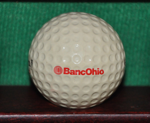 Vintage BancOhio Financial Logo Golf Ball. Dublin Ohio. Wilson ProStaff
