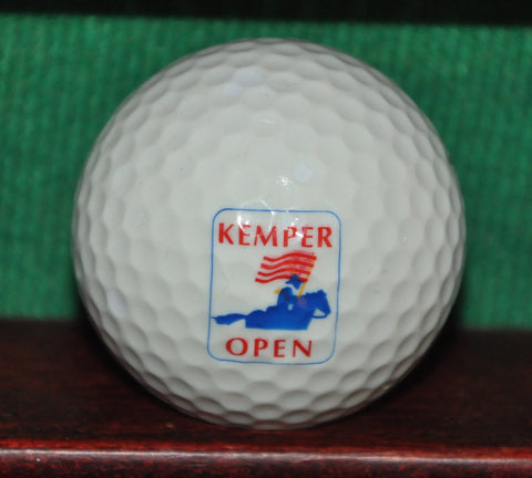 Vintage Kemper Open PGA Golf Tournament Logo Golf Ball