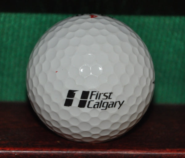 First Calgary Financial Group Alberta Canada Logo Golf Ball