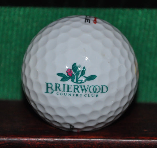Brierwood Country Club Hamburg New York Logo Golf Ball