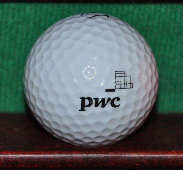 Price Waterhouse Cooper PWC Logo Golf Ball. Nike. Excellent Condition