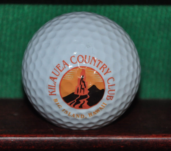 Kilauea Country Club Big Island Hawaii Logo Golf Ball. Excellent Condition