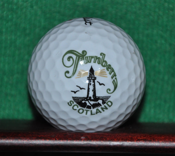 Donald Trump Turnberry Golf Club in Scotland logo golf ball