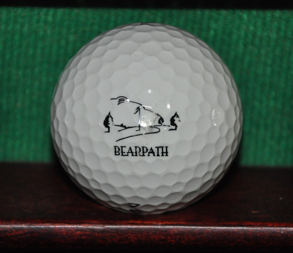 Bearpath Golf & Country Club Logo Golf Ball