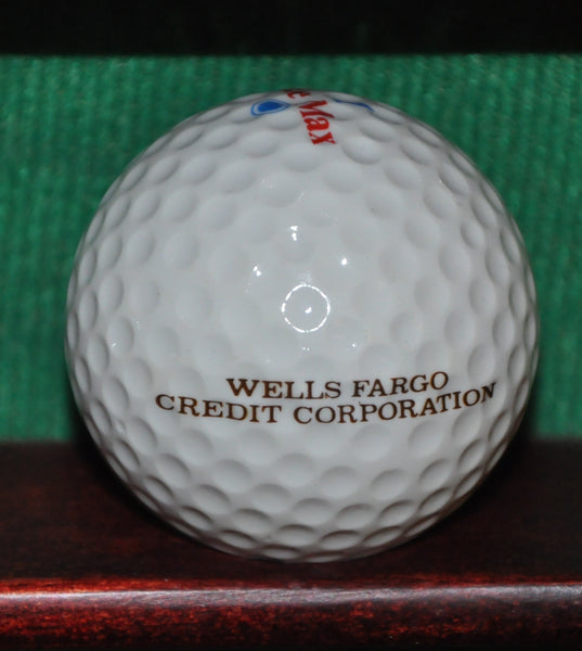 Vintage Wells Fargo Credit Corporation Logo Golf Ball