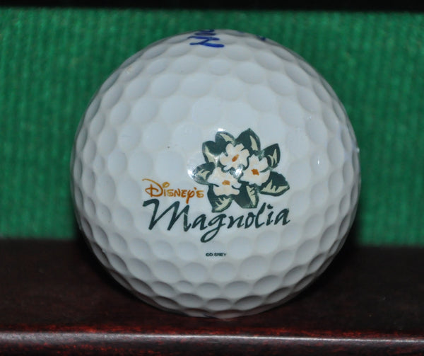 Disney's Magnolia logo golf ball. TaylorMade Noodle.