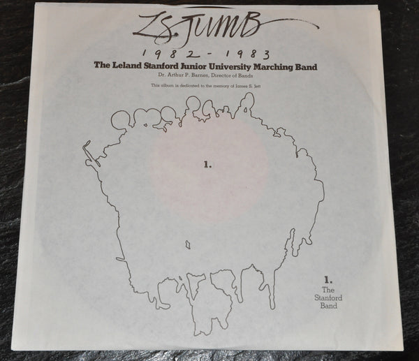 The Leland Stanford Jr University Marching Band Vinyl LP 1982-83