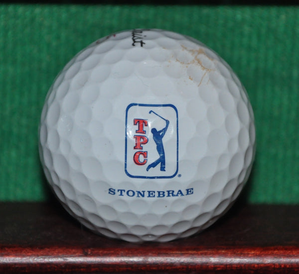 TPC Stonebrae Golf Course Logo Golf Ball. Titleist Pro V1