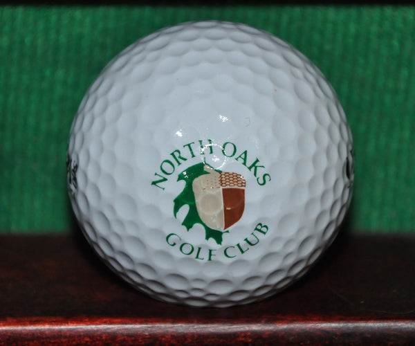 North Oaks Golf Club St. Paul Minnesota Logo Golf Ball