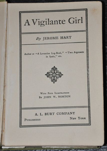 A Vigilante Girl by Jerome Hart 1910