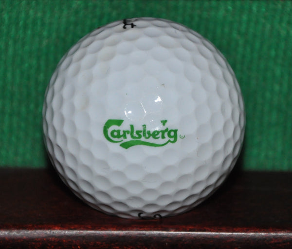 Carlsberg Brewery Denmark Danish Beer Logo Golf Ball. Titleist