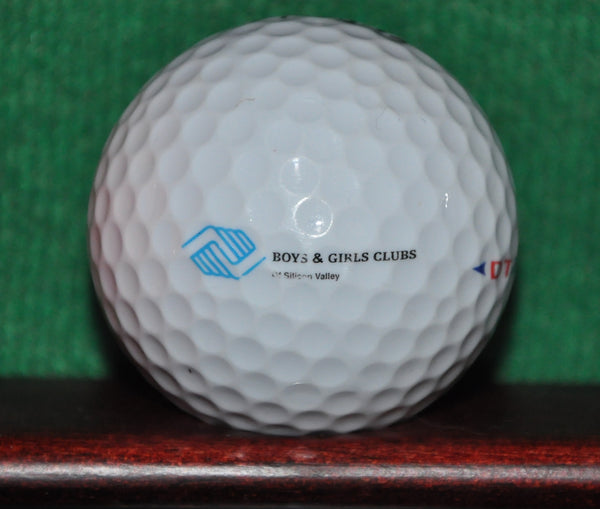 Countrywide Mortgage Company and Boys and Girls Club logo golf ball. Titleist.