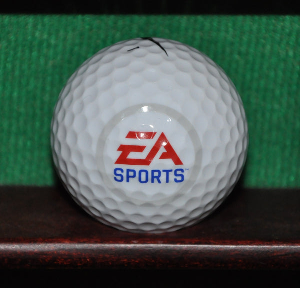 EA Sports logo golf ball. Nike