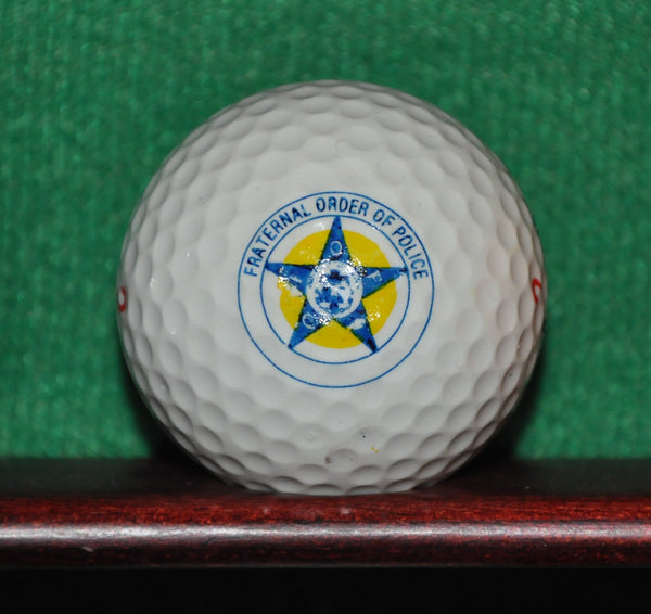 Fraternal Order of Police Logo Golf Ball. ~1985