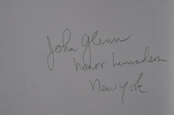 "Original 1961 8"" x 10"" Photo of John Glenn Honor Luncheon in New York City"