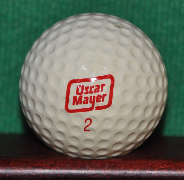 Vintage Oscar Mayer Meats Logo Golf Ball