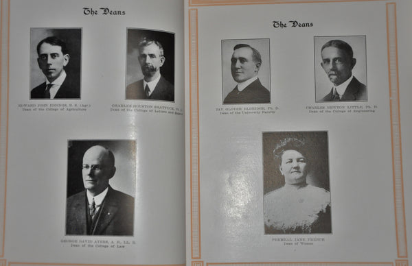 Gem of the Mountains. University of Idaho Yearbook 1917
