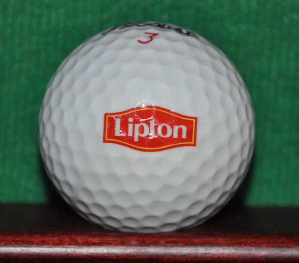 Knorr Foods and Lipton Tea Logo Golf Ball. Titleist