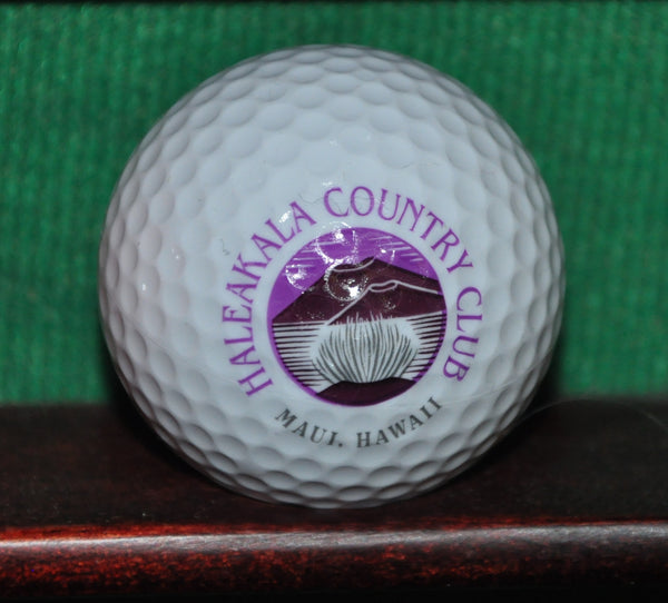 Haleakala Country Club Maui Hawaii Logo Golf Ball
