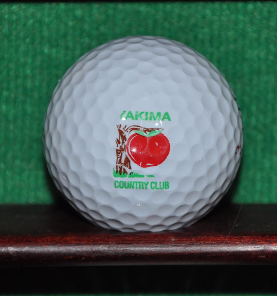 Yakima Country Club Washington Logo Golf Ball
