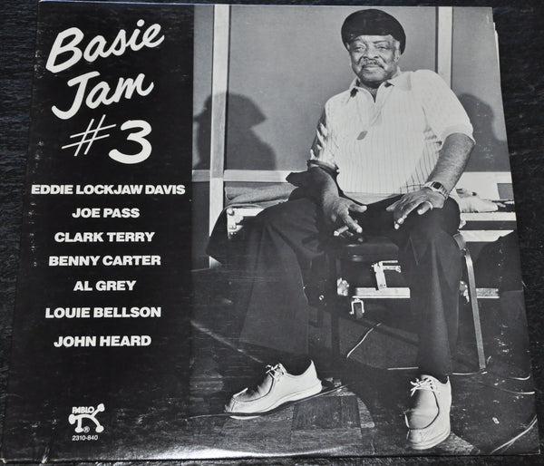 Basie Jam #3 Bennie Carter Al Grey Vinyl LP in Excellent Condition