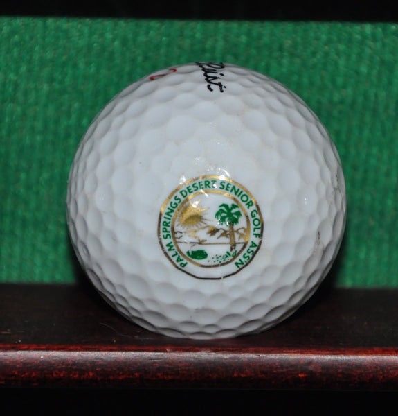 Palm Springs Desert Senior Golfers Association Logo Golf Ball. Titleist