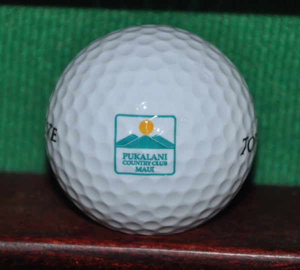 Pukalani Country Club Maui Hawaii Logo Golf Ball Excellent Condition