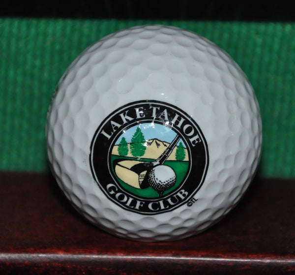 Lake Tahoe Golf Course logo golf ball. Excellent Condition