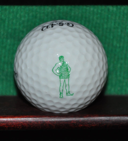Jolly Green Giant Logo Golf Ball