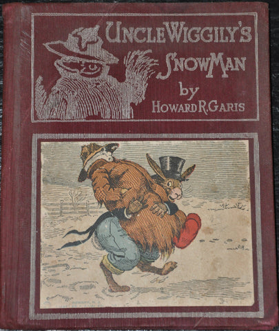Uncle Wiggily's Snowman by Howard Garis 1927. Illustrated.