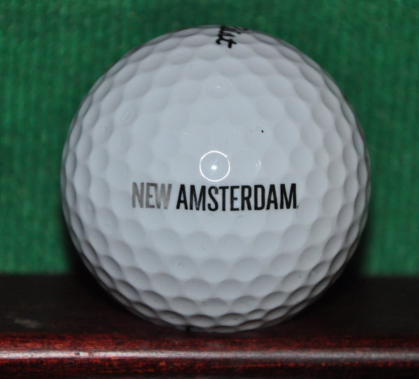 New Amsterdam Vodka Logo Golf Ball. Titleist