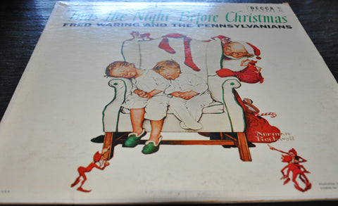 Twas The Night Before Christmas by Fred Waring and the Pennsylvanians LP