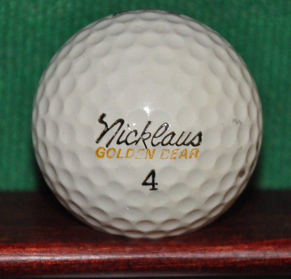 Vintage Jack Nicklaus Signature Golden Bear Golf Ball. MacGregor