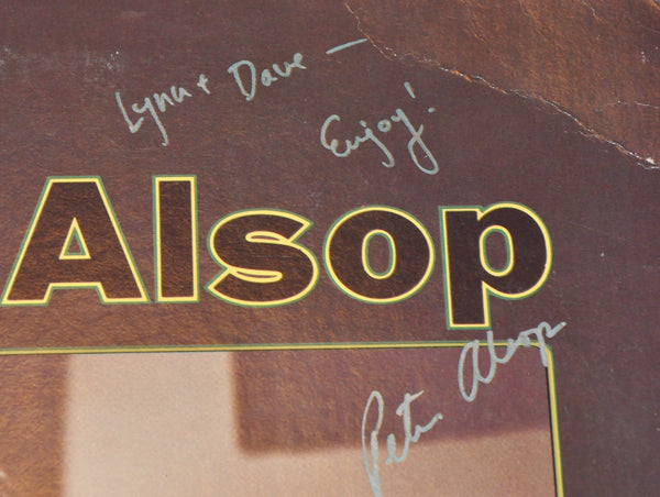 Peter Alsop Self Titled LP Signed 1975