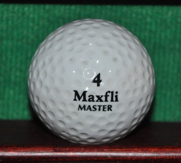 Vintage Maxfli Master Golf Ball. Excellent Condition