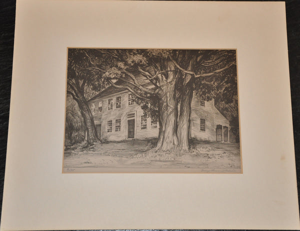 Original George Laurence Nelson Singed Limited Edition Lithograph 2/35