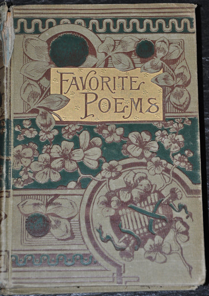 Favorite Poems from English and American Authors Edited by Elmo 1884